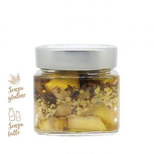 Melanzane sott'olio, pistacchi e basilico | Azienda Agricola Negro Viviana