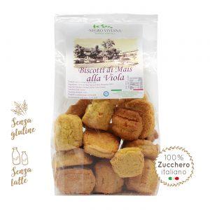 Biscotti di mais alla viola | Azienda Agricola Negro Viviana