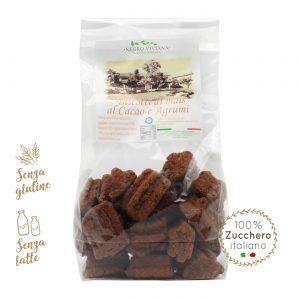 Biscotti di mais al cacao e agrumi | Azienda Agricola Negro Viviana