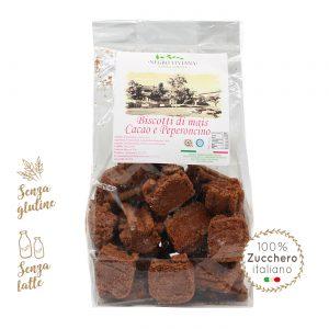 Biscotti di mais al cacao e peperoncino | Azienda Agricola Negro Viviana