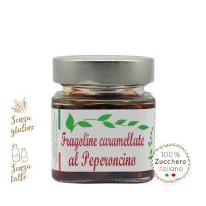 Fragoline caramellate al peperoncino | Azienda Agricola Negro Viviana