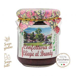 Confettura di ciliegie al Brandy | Azienda Agricola Negro Viviana