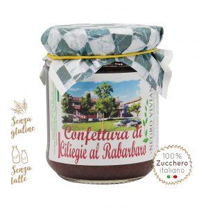 Confettura di ciliegie e rabarbaro | Azienda Agricola Negro Viviana