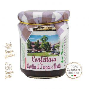 Confettura di cipolle di Tropea e uvetta | Azienda Agricola Negro Viviana
