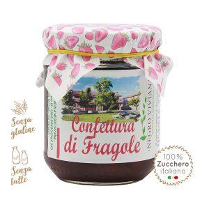 Confettura di fragole | Azienda Agricola Negro Viviana