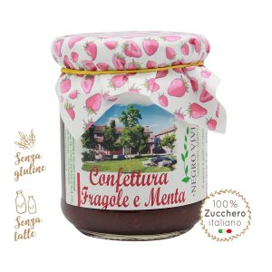 Confettura di fragole e menta | Azienda Agricola Negro Viviana