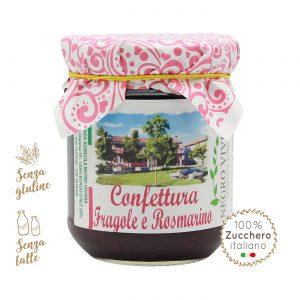 Confettura di fragole e rosmarino | Azienda Agricola Negro Viviana