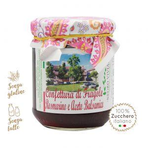 Confettura di fragole, rosmarino e aceto balsamico | Azienda Agricola Negro Viviana