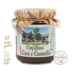 Confettura di kiwi e cannella | Azienda Agricola Negro Viviana