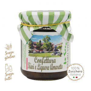 Confettura di kiwi e liquore di amaretto | Azienda Agricola Negro Viviana