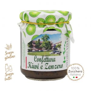 Confettura di kiwi e zenzero | Azienda Agricola Negro Viviana
