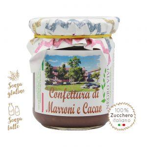 Confettura di marroni e cacao | Azienda Agricola Negro Viviana