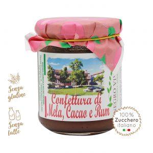 Confettura di mela, cacao e Rum | Azienda Agricola Negro Viviana