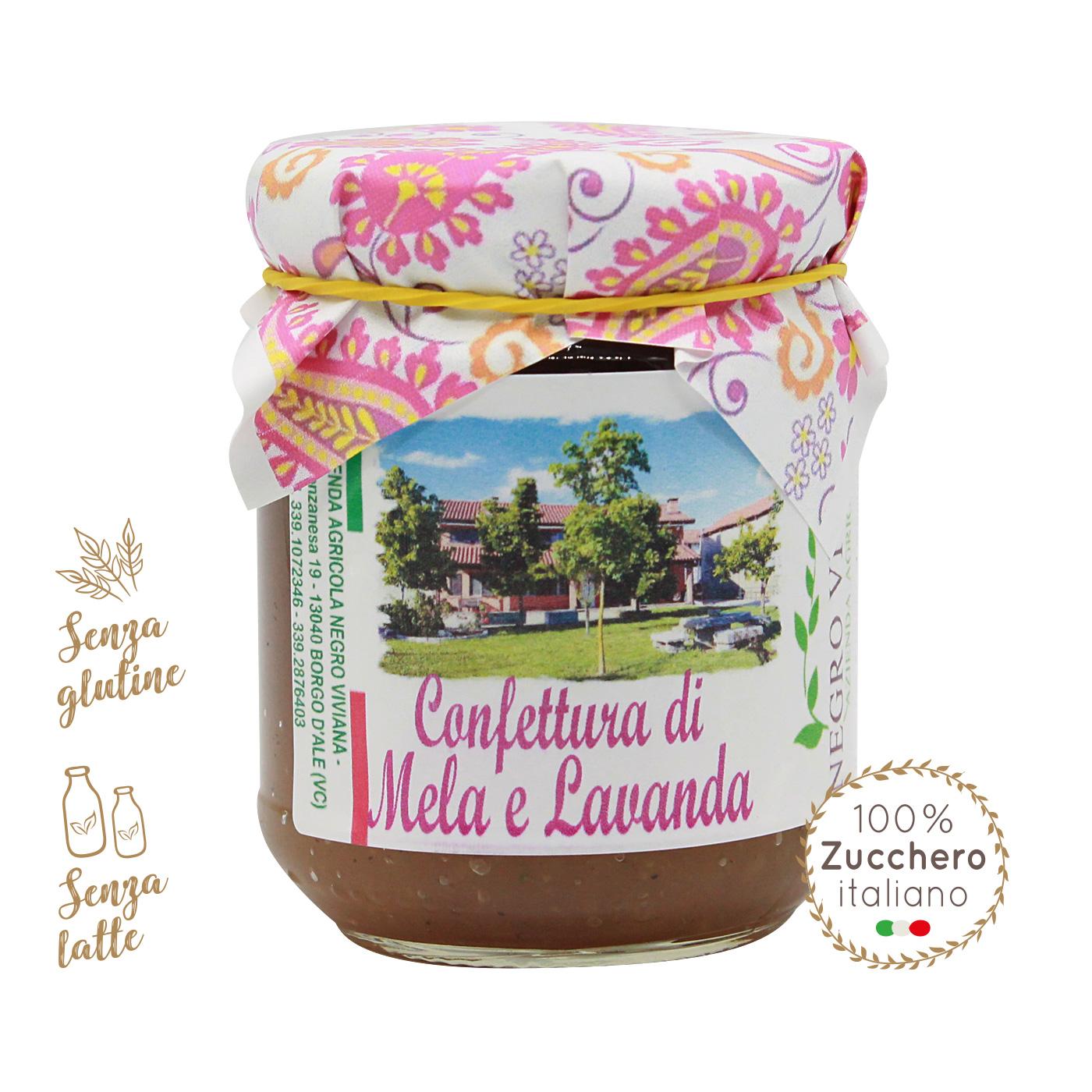 Confettura di mela e lavanda   Azienda Agricola Negro Viviana