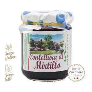 Confettura di mirtillo | Azienda Agricola Negro Viviana