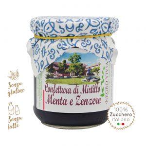 Confettura di mirtillo, menta e zenzero | Azienda Agricola Negro Viviana