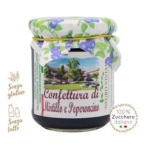 Confettura di mirtillo e peperoncino | Azienda Agricola Negro Viviana