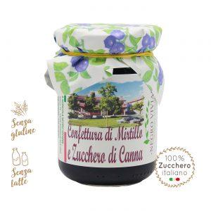 Confettura di mirtillo e zucchero di canna | Azienda Agricola Negro Viviana