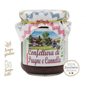 Confettura di prugne Santa Clara e cannella | Azienda Agricola Negro Viviana