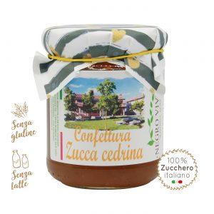 Confettura di zucca cedrina | Azienda Agricola Negro Viviana