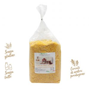 Farina di mais bramata macinata a pietra | Azienda Agricola Negro Viviana