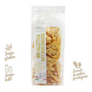 Mini gallette di mais e grano saraceno | Azienda Agricola Negro Viviana