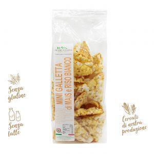 Mini gallette di mais e riso bianco | Azienda Agricola Negro Viviana