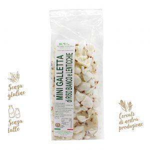Mini gallette di riso bianco e lenticchie | Azienda Agricola Negro Viviana