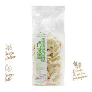 Mini gallette di riso bianco e piselli | Azienda Agricola Negro Viviana