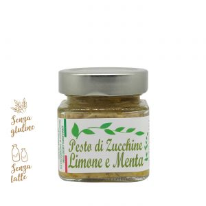 Pesto di zucchine, limone e menta | Azienda Agricola Negro Viviana